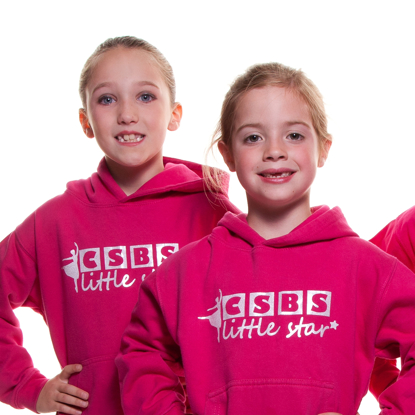 Picture of Child's cerise hoodie