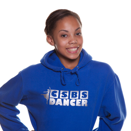 Picture of Child's royal blue hoodie