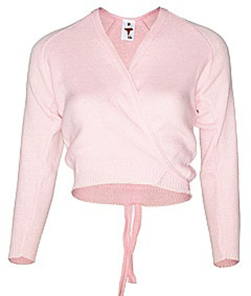 Picture of Pink crossover cardigan