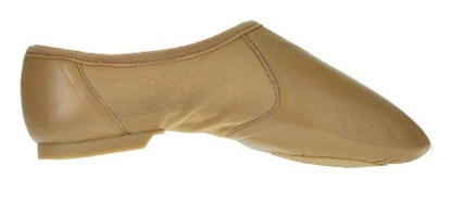 Picture of Tan slip-on jazz shoe