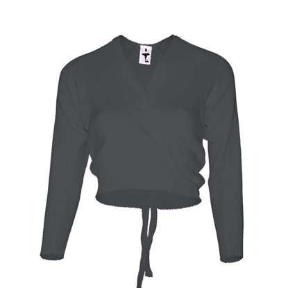 Picture of Majors black crossover cardigan